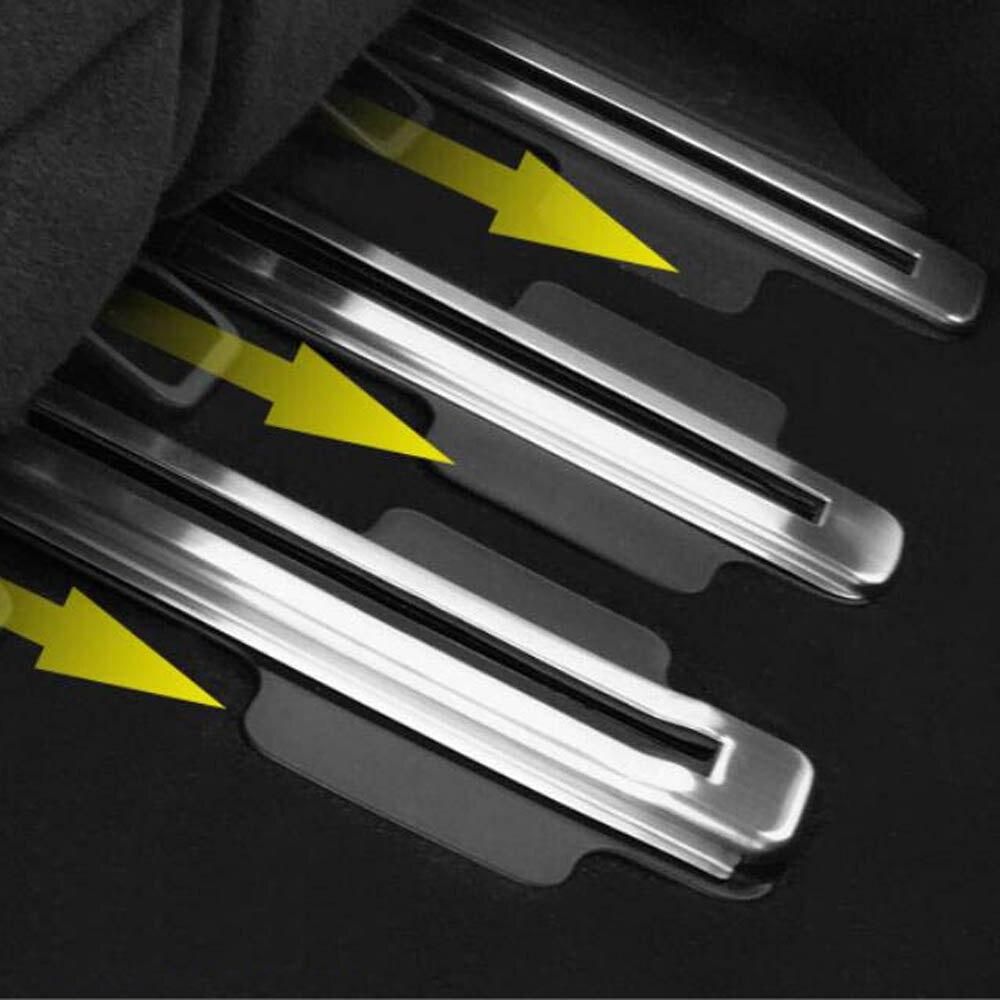 Seats Slide rail protective cover slideway sticker Rubbing strip decorative frame for Infiniti QX60 interior Accessories