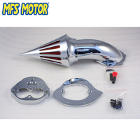 Motorcycle Air Cleaner Filter Kit for Kawasaki Vulcan 1500/1600 Classic Fuel Injection 2000&up