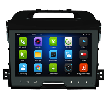 "9"" android 6.0.1 car DVD multimedia for KIA Sportage 2010 2011 2012 stereo autoradio car stereo head units tape recorder 3G WIFI"