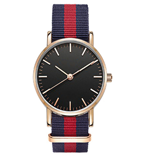 Nowe mody kobiet zegarek nylonowy pasek NATO biznesu na co dzień - Zegarki damskie - Zdjęcie 5