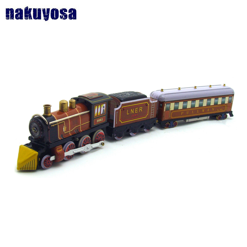 Classic iron toy tintoy MS440 39cm steam train Model cars Clockwork toys kids Toys Gifts
