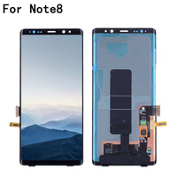 New 6.3 Original SUPER AMOLED Display For SAMSUNG Galaxy NOTE8 LCD N950 N950F Display Touch Screen Replacement Parts