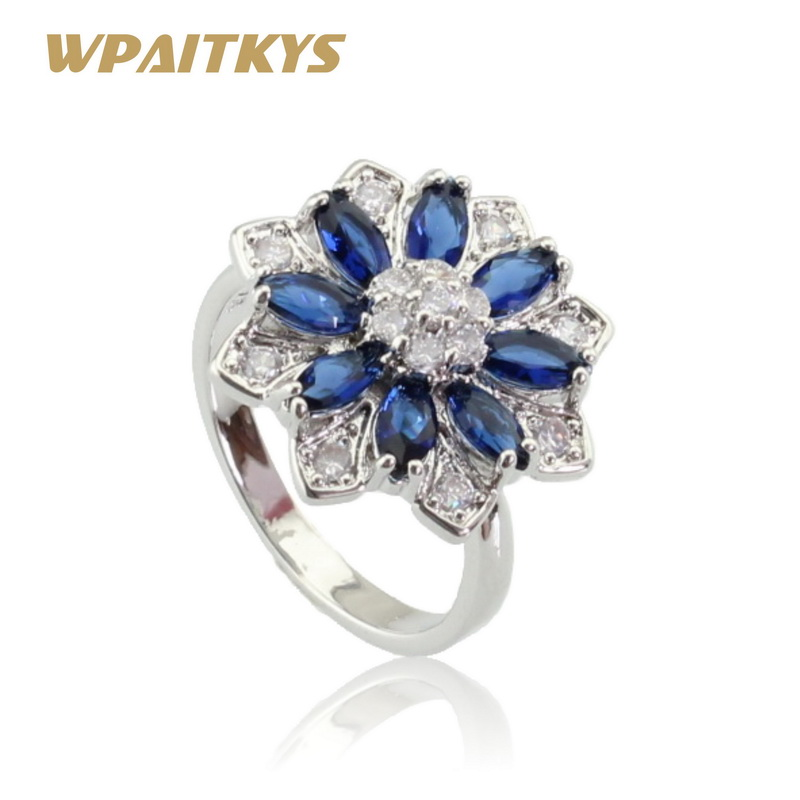 Fine Jewelry Glorious Bijou Argent 925 Bague Cristal Jaune Taille 48 Ring