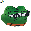 30X40cm Green Sad Frog Hand Warmer Cushion Plush toy Stuffed Doll Birthday Christmas Winter Gift Present Home Shop Deco Triver couple frog plush toy frog prince doll toy doll wedding gift ideas children stuffed toy