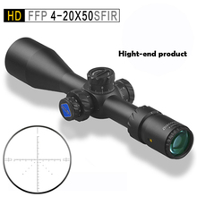 Discovery HD FFP4-20X50SFIR light Optic Sight Outdoor Hunting Traveling Rifle Monocular telescope Coordinate gun accessories