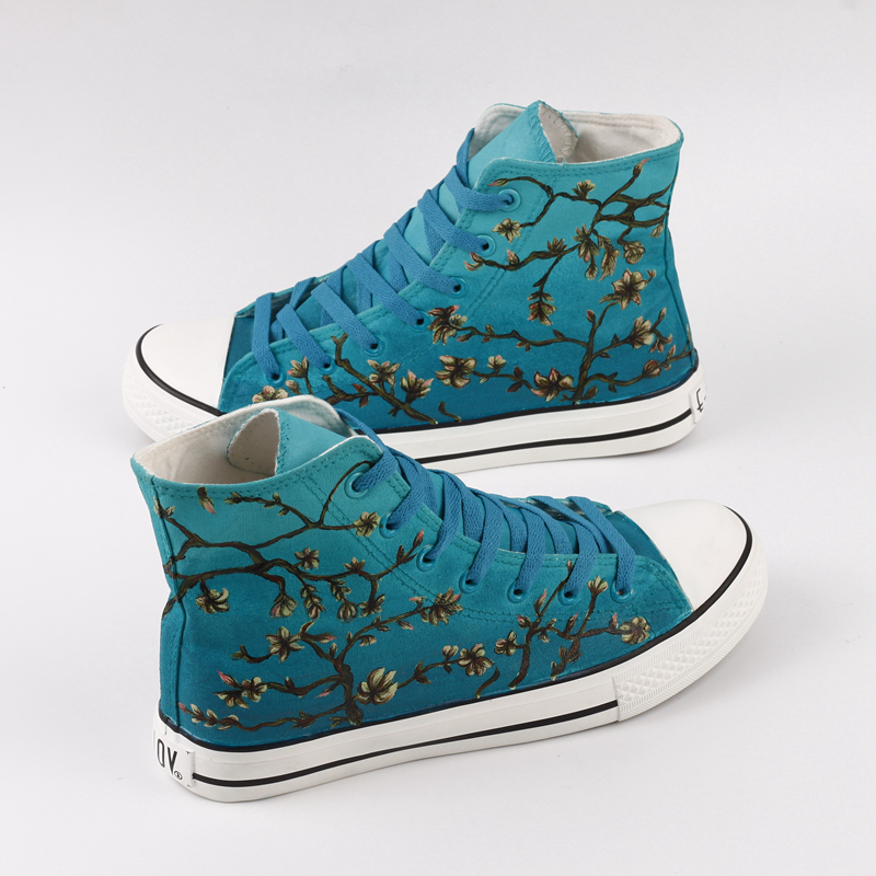 Hermosa Mano Lona Lov Aire Al Z503c Parejas Libre 0000 Calzado Pintura De Para Unisex Informal Zapatos Almendra Graffiti qApSt4