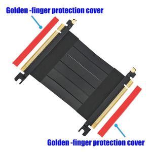 Image 5 - VODOOL высокоскоростные гибкие кабели PCI E Gen3 PCI E Express 16X кабель удлинитель для переходных карт для шасси 1U, 2U