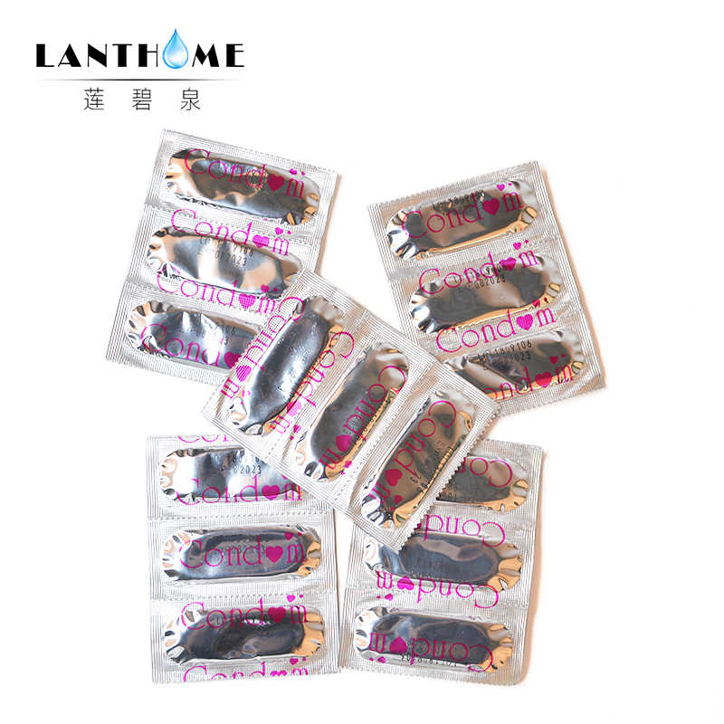 50Pcs Large Lubricant Condoms Sexual Pleasure Products Lovers Safe for Men Sex Female Contraceptives Smooth Condom Wholesale