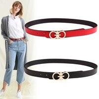 Designer Women High Quality Luxury Brand Genuine Leather Belt For Dress Girls Ladies Belt For Jeans