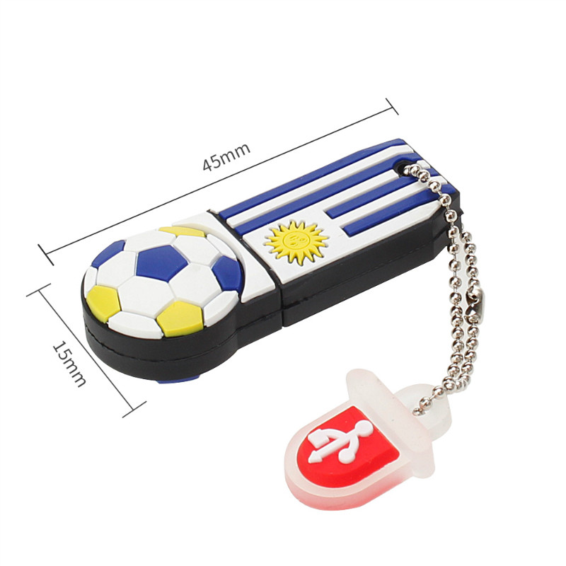 Image 5 - USB Flash Drive 32GB Brazil World Cup Mascot Cartoon Pen Drive 128GB 64GB 16GB 8GB 4G Pendrive Best Gift Usb Stick Free Shipping-in USB Flash Drives from Computer & Office