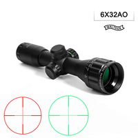 6x32AO Hunting Compact Rifle Scope Mil Dot Double Color Illuminated Reticle Hunting Riflescope For Outdoor Hunting Scope