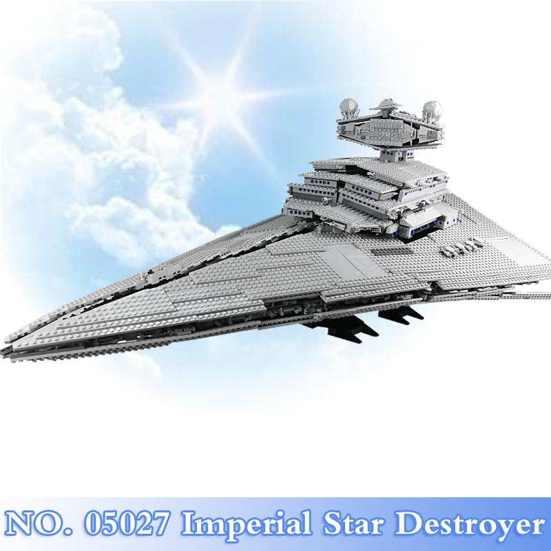 Lepin 05027 Star War 3250Pcs Imperial Star Destroyer Figures Building Blocks Bricks Set Toys For Children Model Compatible 10030 lepin sets star wars figures 3250pcs 05027 imperial star destroyer model building kits blocks bricks educational kid toys 10030