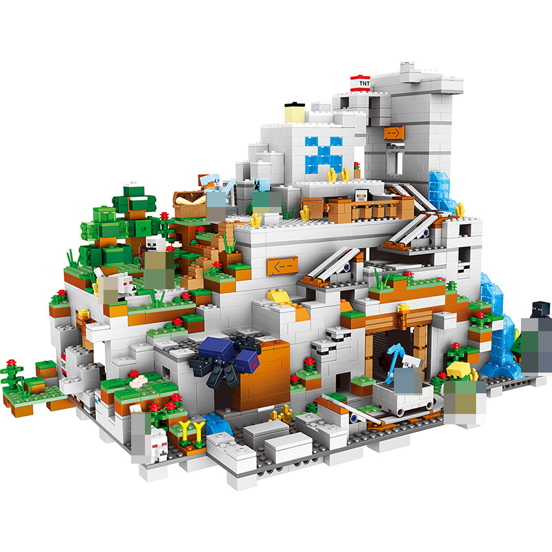 My World Series Best Educational Building Blocks For Toddlers Iron Golem Clever Toys Compatible Legoing Minecrafter 2052 Pcs 259pcs new my world building blocks sets mine and workers scene blocks compatible legoinglys minecrafter toys for childrens