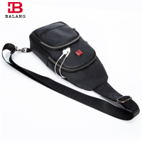 BaLang Men Messenger Bags Crossbody Bag Waterproof Oxford Chest Pack Casual Men S Travel Fashion Shoulder