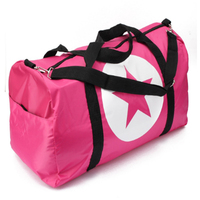 New Nylon Luggage Handbag Women Travel Bag Portable Print Star Travel Bag High Quality