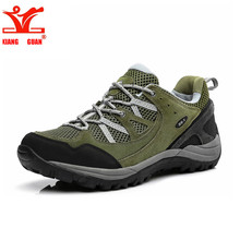 XIANG GUAN Outdoor Breathable Hiking Shoes Men Women Lightweight Walking Climbing Shoes Anti-skid Aqua Trekking Shoes 27559