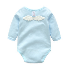 Newborn Wing Babies Romper Cute Infant Baby Girls Boys Clothing Long Sleeve Kid Toddler Suits Children Clothes Cotton Jumpsuit
