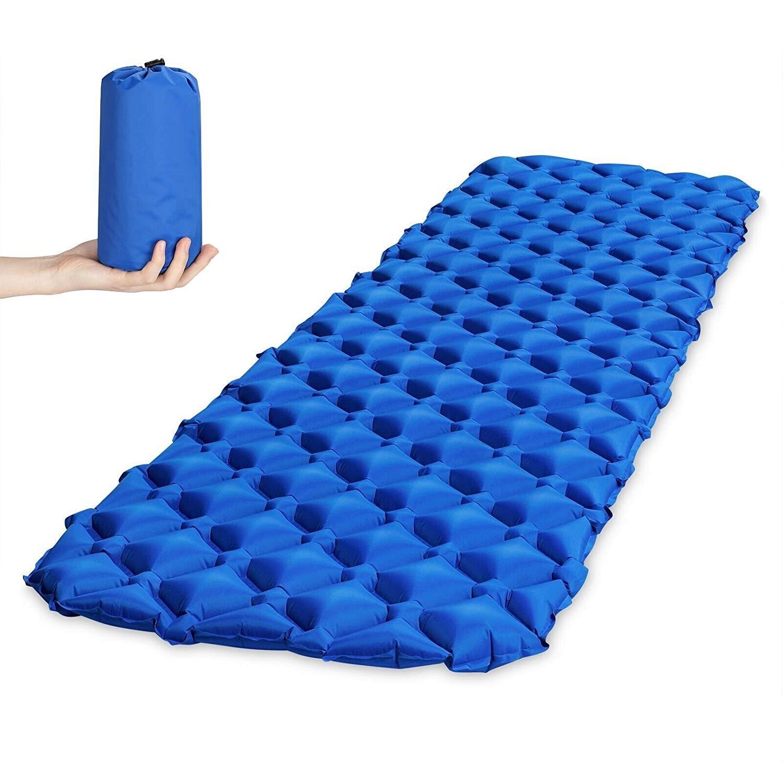 Air Mattress Inflatable Bed for Tent Portable Ultralight Sleeping bag Air Bed Moistureproof Pad Waterproof Outdoor Camping Mat