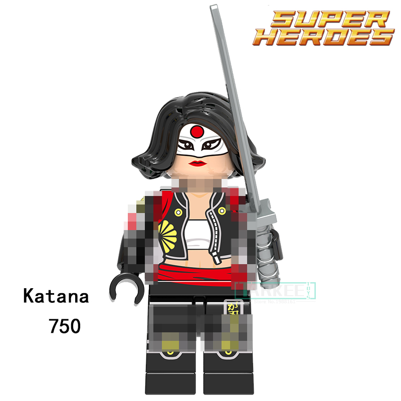 Building Blocks Katana Parademon Aquaman Reverse-Flash Super Hero Star Wars Set Bricks Dolls Kids DIY Toys Hobbies XH750 Figures single sale aquaman reverse flash parademon green lantern booster gold power girl katana building blocks toys for children x0177