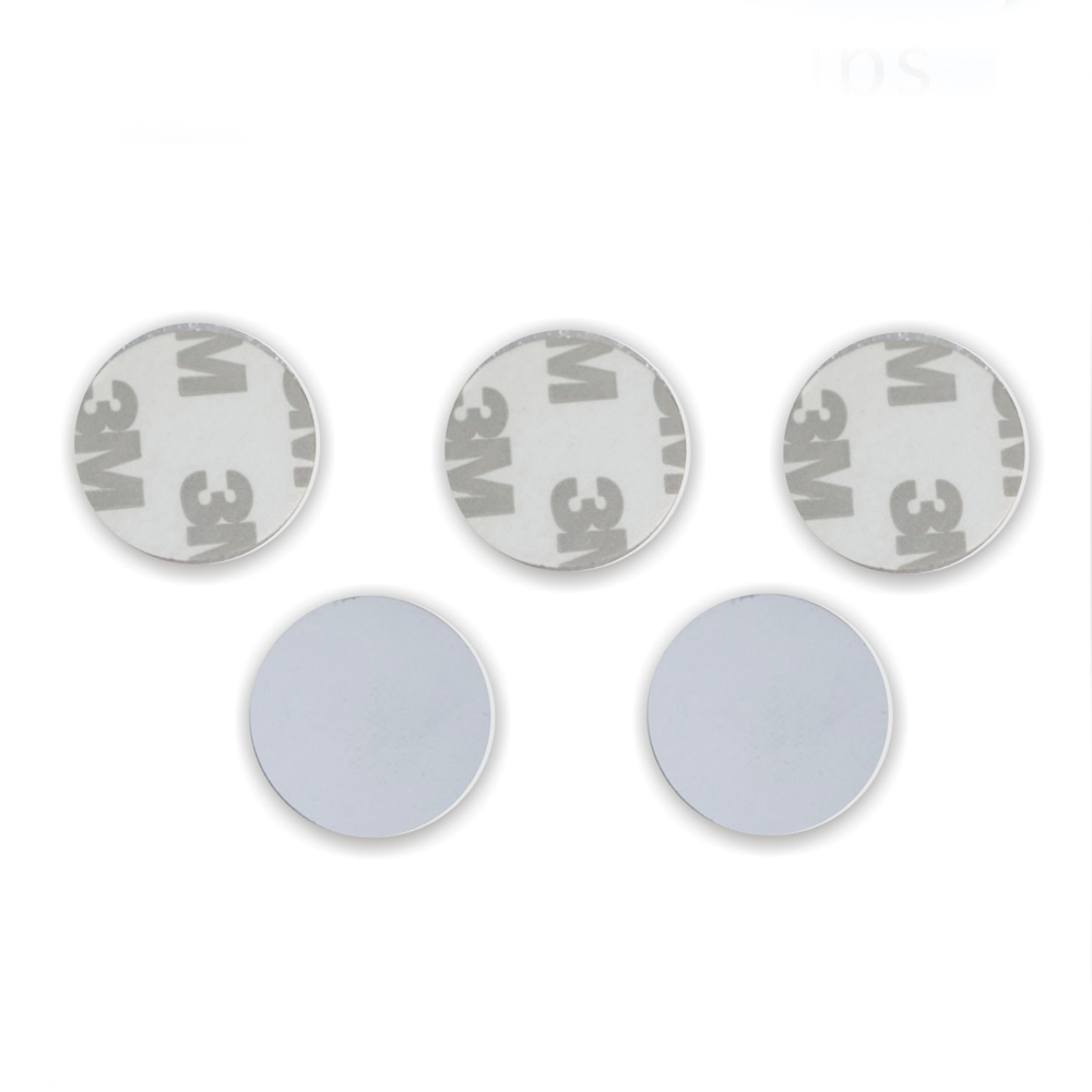 (10 Pcs) Coin RFID Tags Stickers Waterproof Adhesive 3M Gule Label Proximity Coin Smart Card