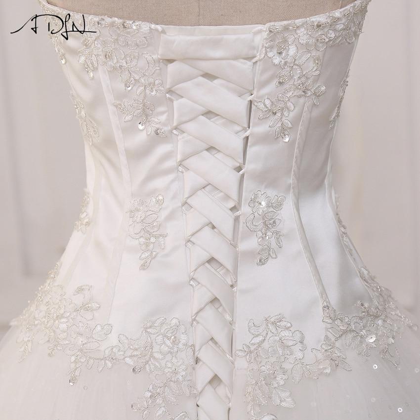 ADLN Bröllopsklänningar Vestidos de Novia Off Shoulder Sweetheart - Bröllopsklänningar - Foto 6