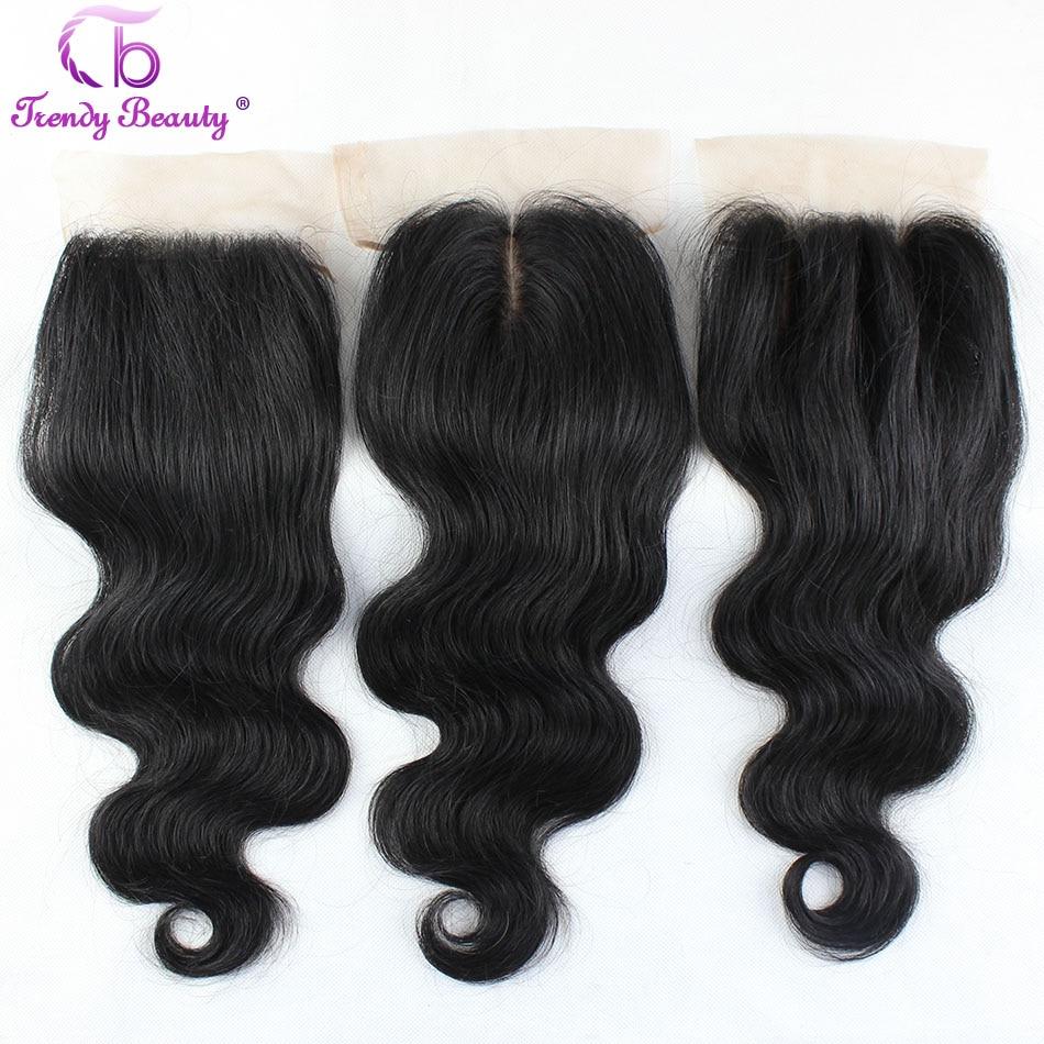 ФОТО Unprocessed Brazilian virgin hair body wave silk base closure