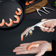 Peeler Stainless Steel Shrimp Prawn Deveiner Peel Device Creative Kitchen Cooking Seafood Tools Gadgets