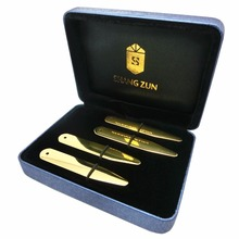 SHANH ZUN 4 Pcs Stainless Steel Collar Stays in High Grade Box 2.3