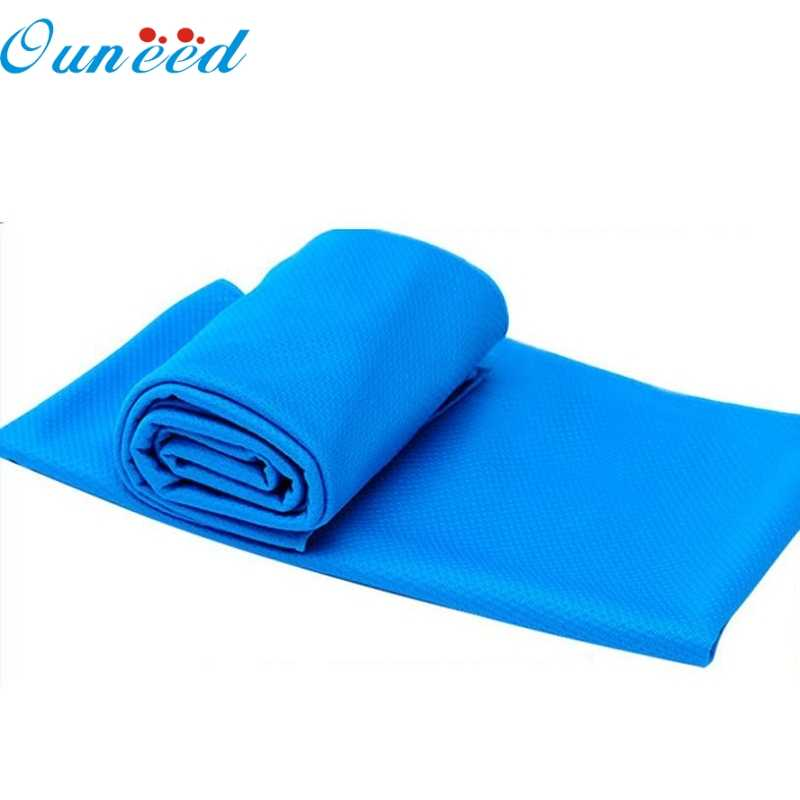 31 maja Mosunx Business uczucie zimna ręcznik plażowy suszenie podróże sport pływanie body do kąpieli ręcznik mata do jogi