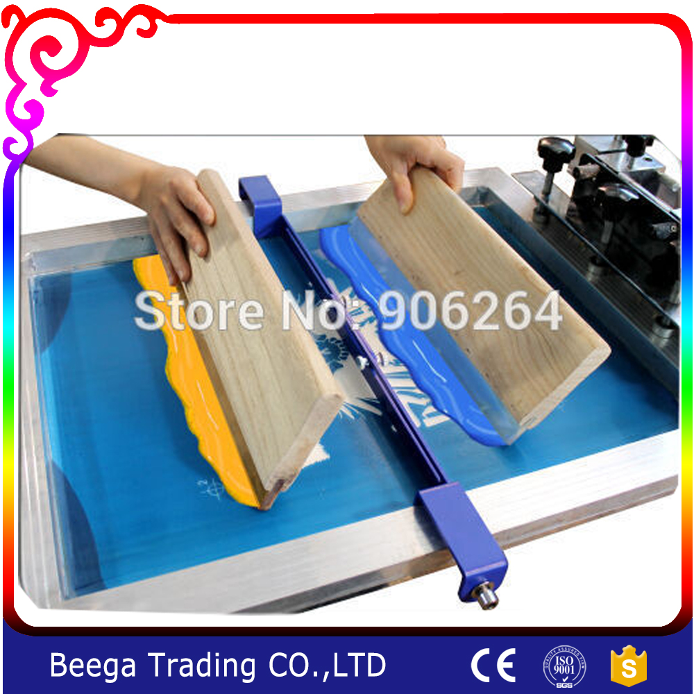Screen Printing Stencial Isolator for Two Colors in Printing T-shirt  Change Traditional Color of Each a Screen Version Device promoting social change in the arab gulf