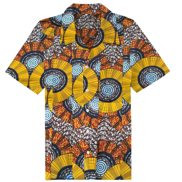 d86c86dd179d New Clothing Fashion Pattern Design African Traditional Printed Cotton  Bazin Riche Men 100% Cotton Short