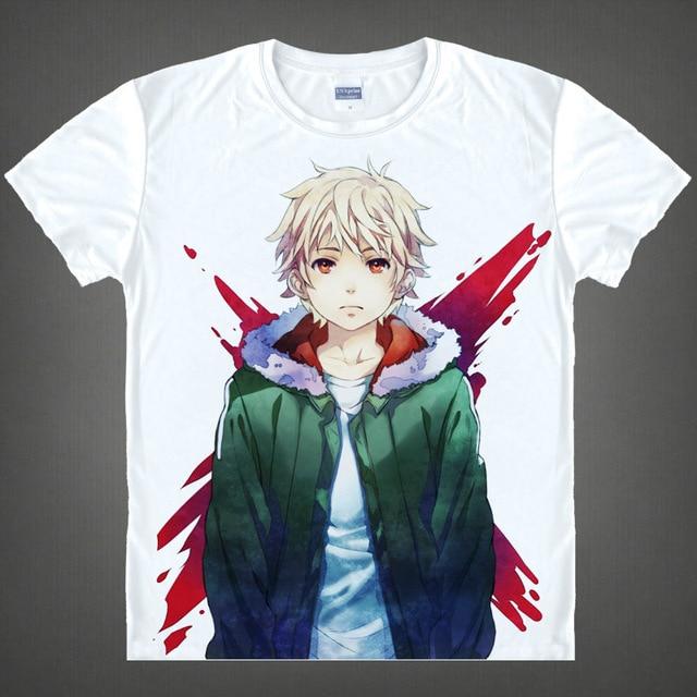 1929ef6a7f Noragami Hentai Camisetas kawaii camiseta japonesa del animado camisa de  manga camisa Linda yato yukine Cosplay