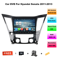 9 Quad Core Android 6 0 OS Car DVD For Hyundai Sonata 2011 2013 Hyundai I40