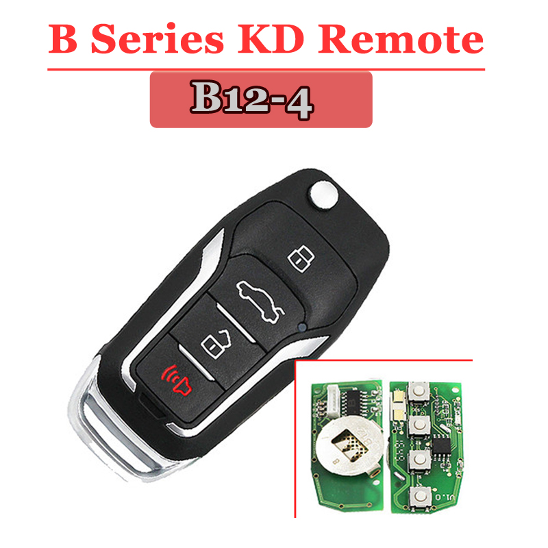 Free shipping (1pcs)  B12  KD remote 4 Button Remote For KD900(KD300) Machine