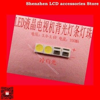 200 unids/lote para LED de alto brillo cuentas de lámpara SMD SMT AOT 3030 LED Reparación de TV dedicado 3V 100% nuevo