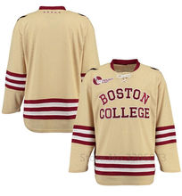 240670abe Boston Eagles Gold Replica College Hockey Jersey Mens Embroidery Stitched  Customize any number and name Jerseys