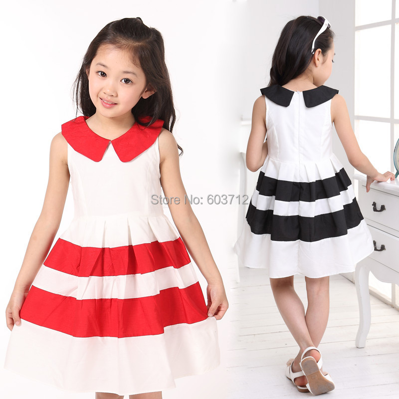 Imagenes de vestidos casuales de dos colores