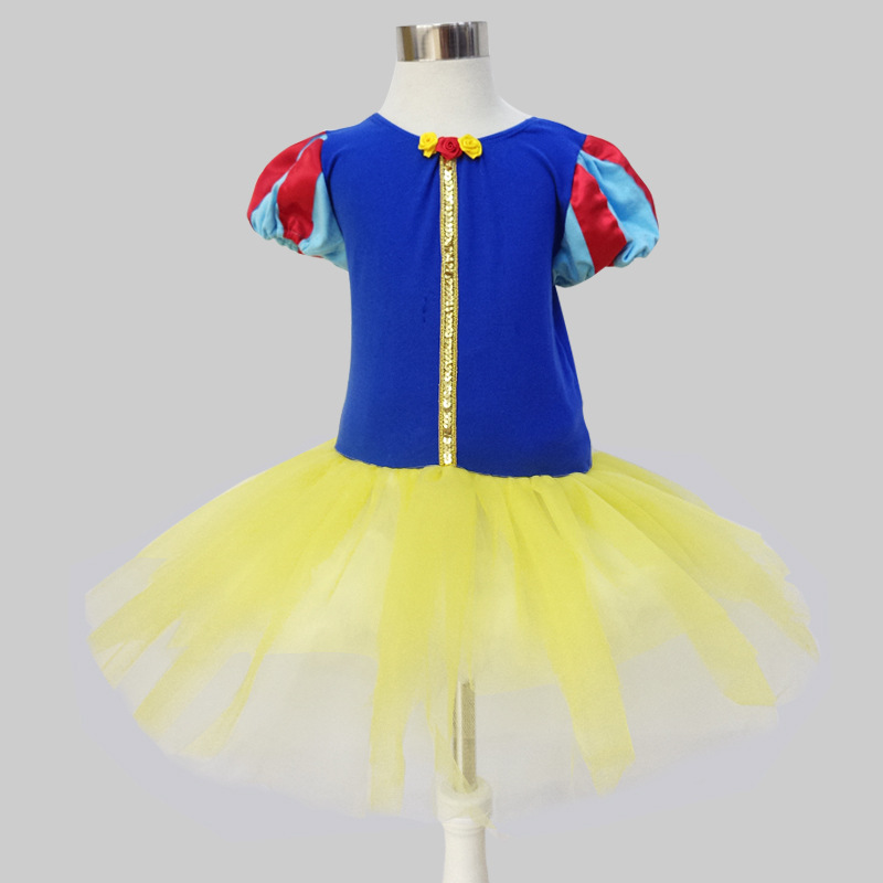 Snow Queen Minnie Mouse Anna Dress Halloween costume for kids girls beautiful Clothes Fancy Ballet Tutu Leotard Dance wear