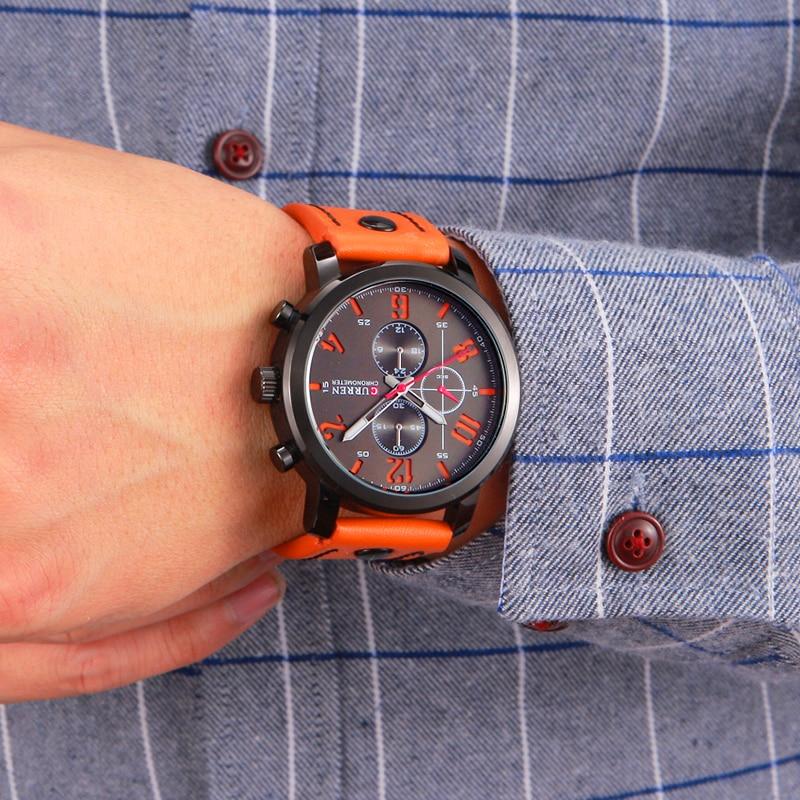 CURREN Πολυτελή Casual Ανδρικά Ρολόγια - Ανδρικά ρολόγια - Φωτογραφία 3