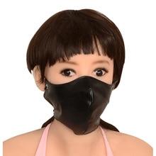 Сексуальная Маска Мягкий Pu Ограничения Неволи Маска Бдсм Фетиш Bondage Mask LL236