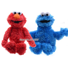 2015 NEW high quality Sesame Street  Stuffed Plush Toys,32cm Elmo Cookie Monster Oscar Baby Doll for Christmas gift