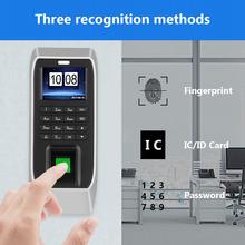 2 4 cali TFT maszyna obsługująca LCD rozpoznawania linii papilarnych hasło bezprzewodowy dzwonek do drzwi System kontroli dostępu tanie tanio VBESTLIFE