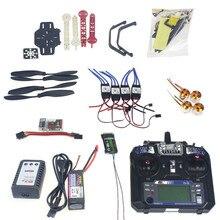 Full Set RC Drone Quadrocopter 4-axle is Aircraft Kit F330 MultiCopter Frame QQ Super Flight Control Flysky FS-i6 TX F02471-H