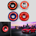 China Flag Ignition Key Ring Cover Stickers For Volkswagen Golf 6 7 New Polo Jetta Passat New BORA Santana 1PC Car Accessories