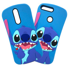 3D Cartoon Stitch Soft Silicone Phone Case For Huawei Y6 Prime 2018 Y5 P20 Mate 20 Lite Honor 9 Lite 7C 7A Pro 8X Y9 2019 Cover luxury fashion glitter shining cases for huawei y9 2019 y6 2018 y5 honor 8x 10 tpu phone back cover mate 20 lite case p20 pro 9