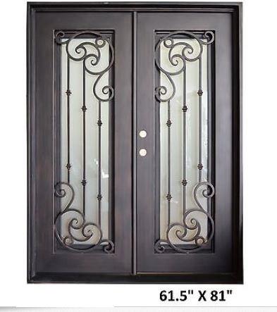 French Front Doors With Glass Double Door Front Door