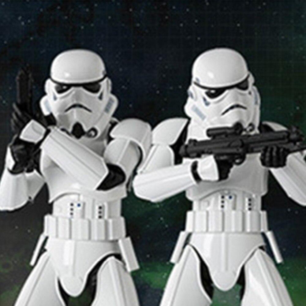 2 Colores Negro Blanco Máscara de Star Wars Casco Fresco Darth Vader - Para fiestas y celebraciones - foto 6