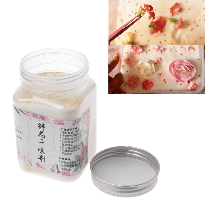Reusable Silica Gel for Preserve Flower Drying DIY Craft Food Grade 0.55 Pound Jewelry tool