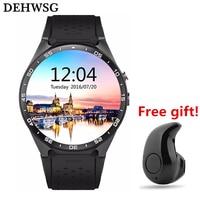 KINGWEAR Bluetooth Smart Watch Kw88 Android 5 1 OS MTK6580 1 39 Inch Amoled Screen 3G