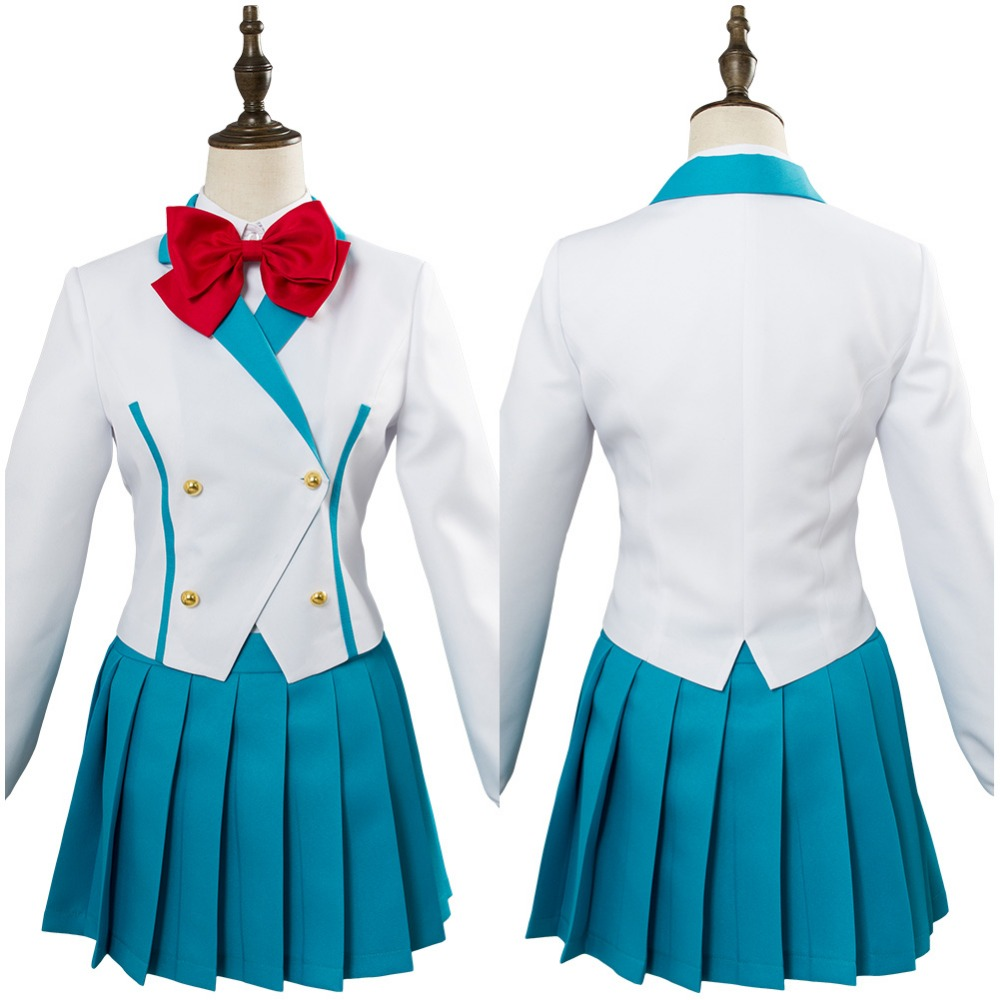 Full Metal Panic! Invisible Victory Kaname Chidori Cosplay Costume School Uniform Dress